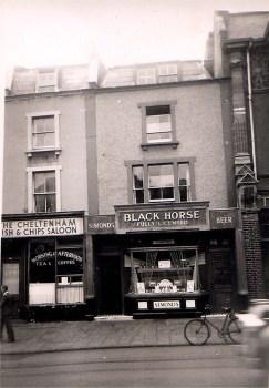Cheltenham Road, Black Horse, 1950's, now a restaurant.