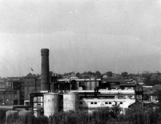 Brewery from multi-story car park 1984