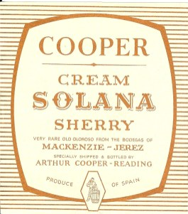 Cream Solana Sherry