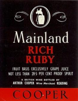 Mainland Rich Ruby Port