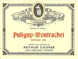 Puligny Montrachet 1953