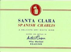 Santa Clara Spanish Chablis