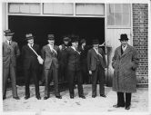 Brewery air raid drill 1941 Henry Duncan Simonds on the right.