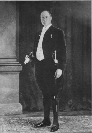FA Simonds as High Sheriff, by Vandyke