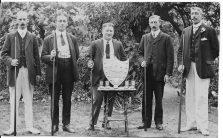 Caversham Billiards trophy