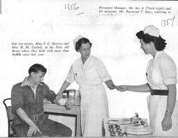 FG Hawkes, BM Corbett Nurses