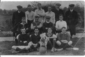 Staff football team 1930