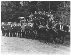 Staff outing 1911