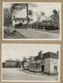 Ibthorp Hants, The White Hart [closed] The George & Dragon [trading]