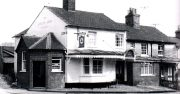 Basingstoke, Bunnian Place, The Queens Arms 1965.