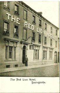 Red Lion Ln, Red Lion c1906