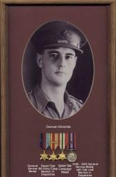 Wartime service medals