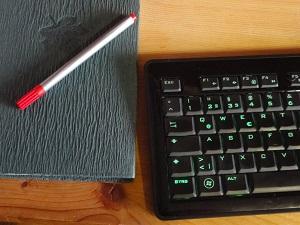 Tastatur_mit Stift