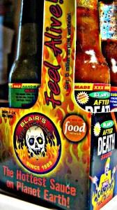 Scharfe Sauce namens Sudden Death