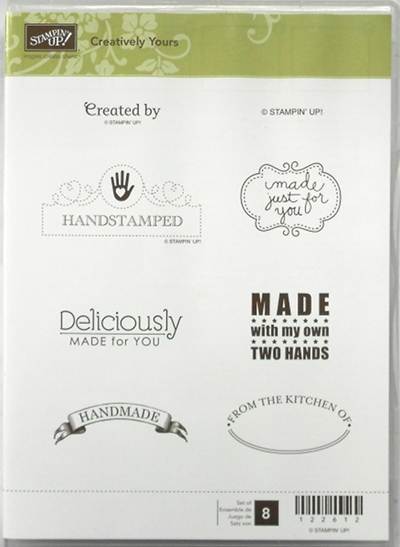 Creatively Yours clear mount stamp set