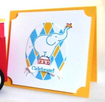 Big Top Suite: Elephant Card