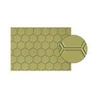 honeycomb embossing folder