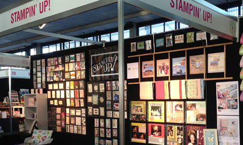 Stampin' Up! at Paperific Expo, Melbourne.