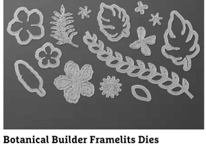 Botanical Builder framelit dies