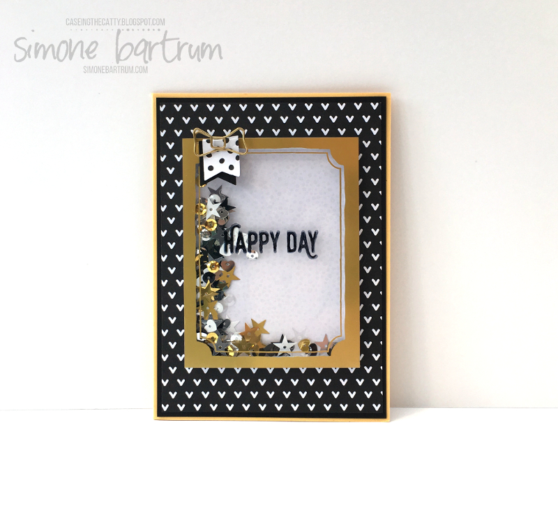 CTC 70: Perfect Pairings shaker frame card.