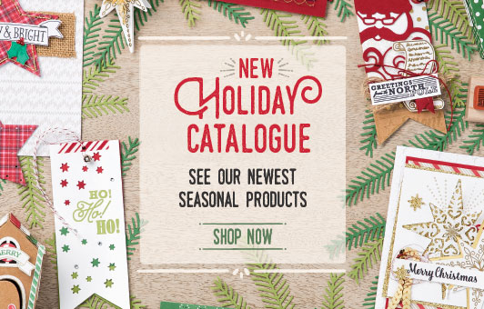 New Holiday Catalogue: Stampin' Up!