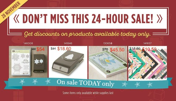 Stampin' Up! Australia Flash Sale