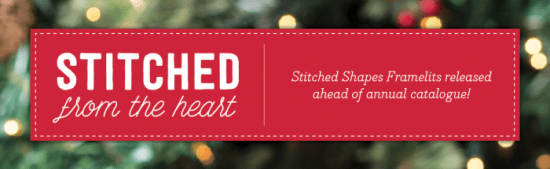 Stitched Shapes Framelits - now available