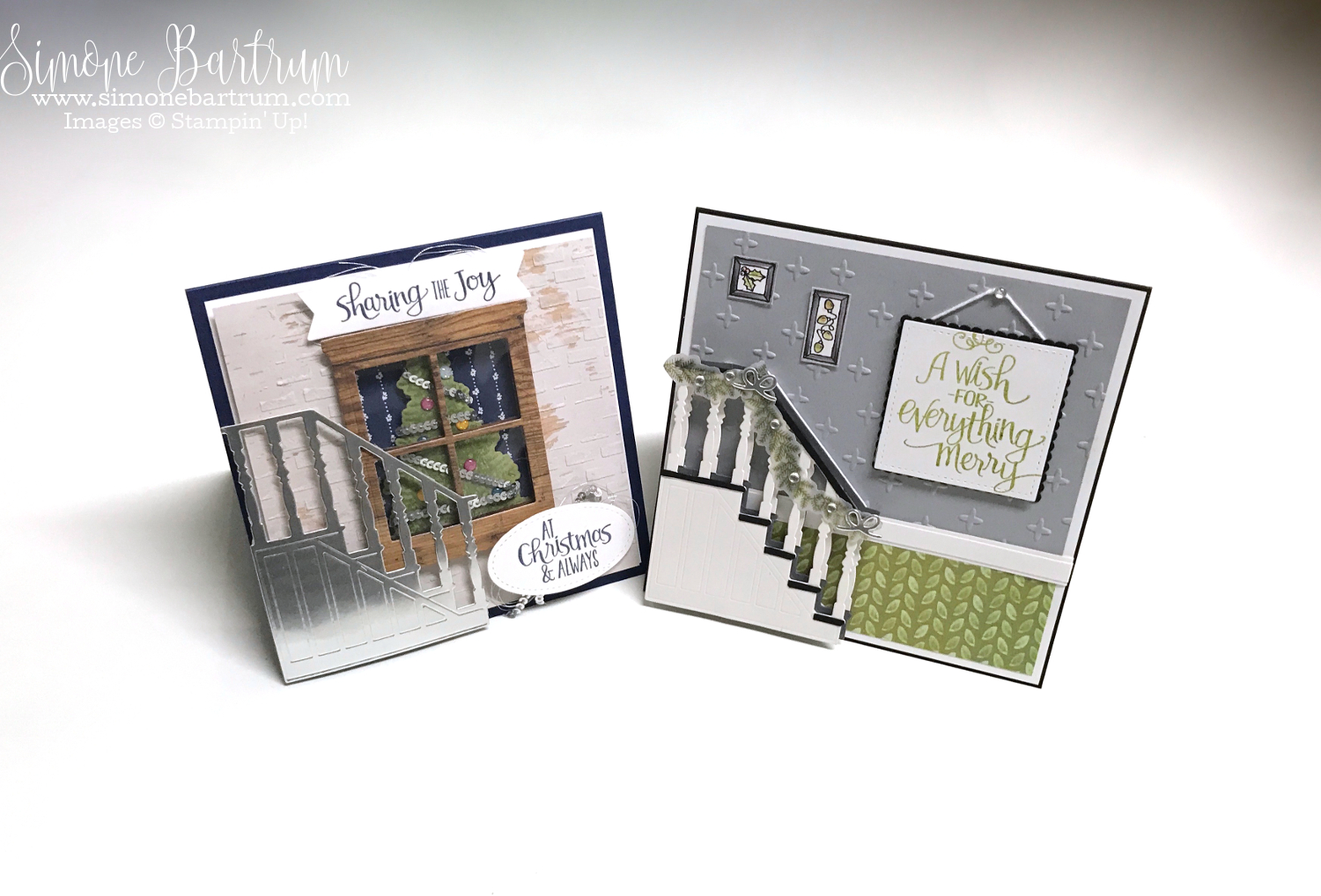 Ready For Christmas Staircase bundle by Stampin\' Up! #2