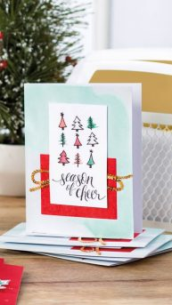 Watercolor Christmas Project Kit, from the Stampin' Up! Holiday Catalogue page 33