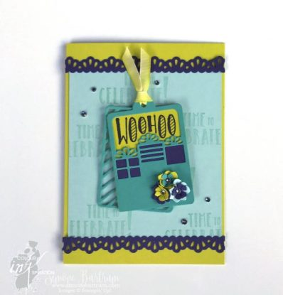 WooHoo Card by Simone Bartrum, part of the CI15 Colour Inkspiration Challenge
