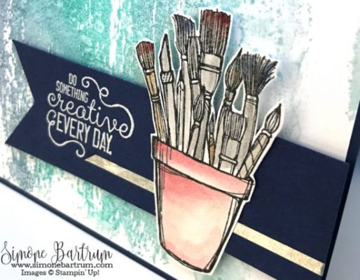 paintbrushes: Crafting Forever stamp set by Stampin' Up!