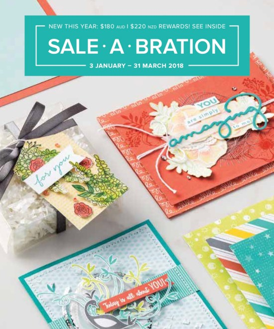 Open the Sale-a-bration Brochure