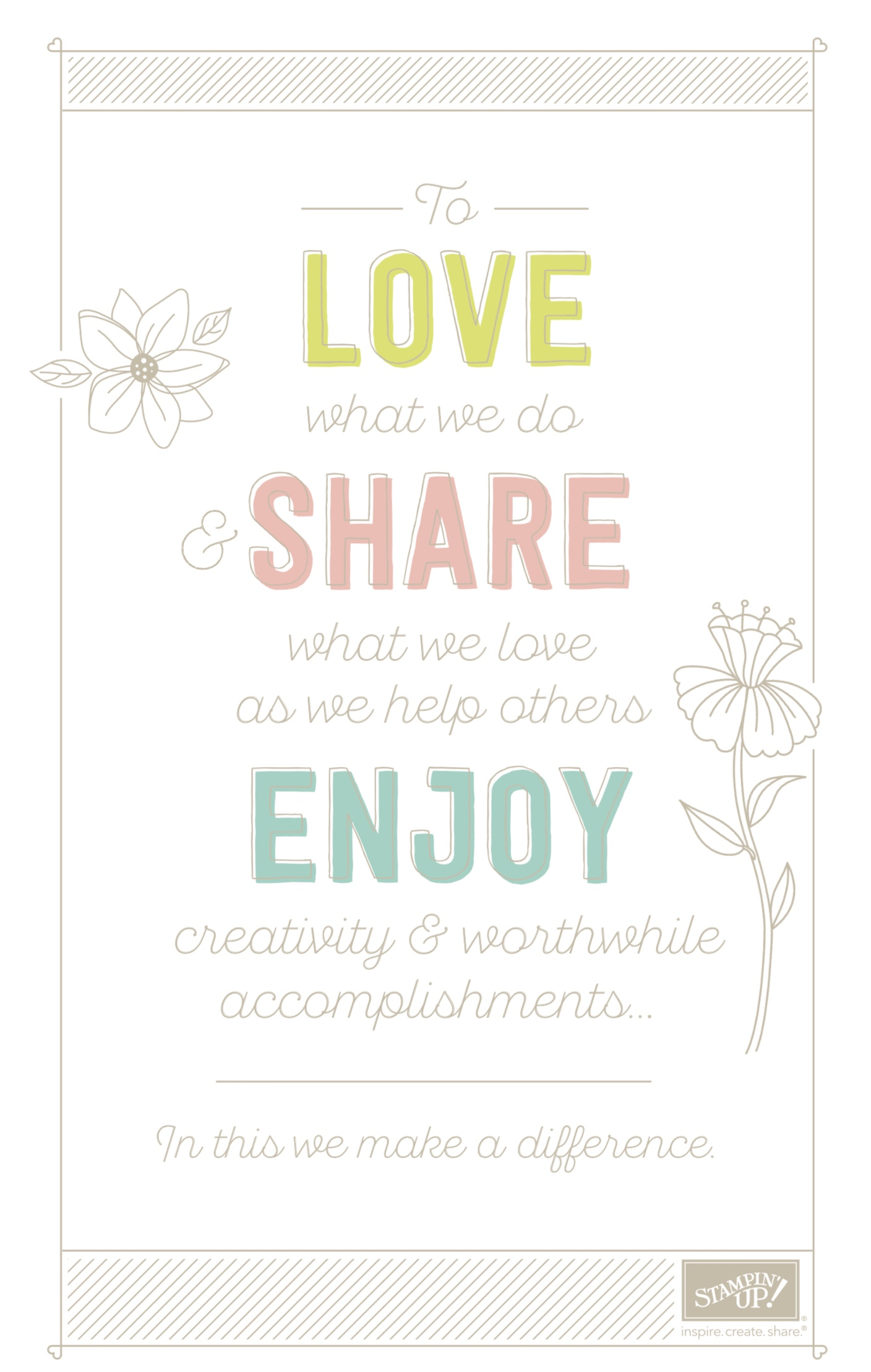Stampin' Up!'s Statement of the Heart