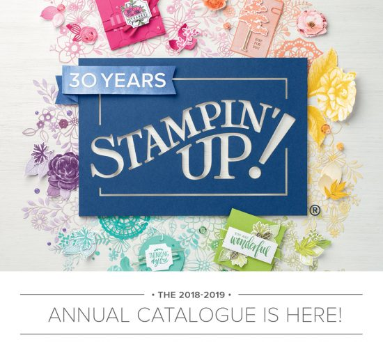 The new Stampin' Up! catalogue for Australia is now HERE