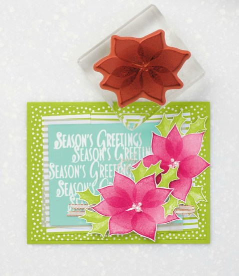 Stylish Christmas stamp set