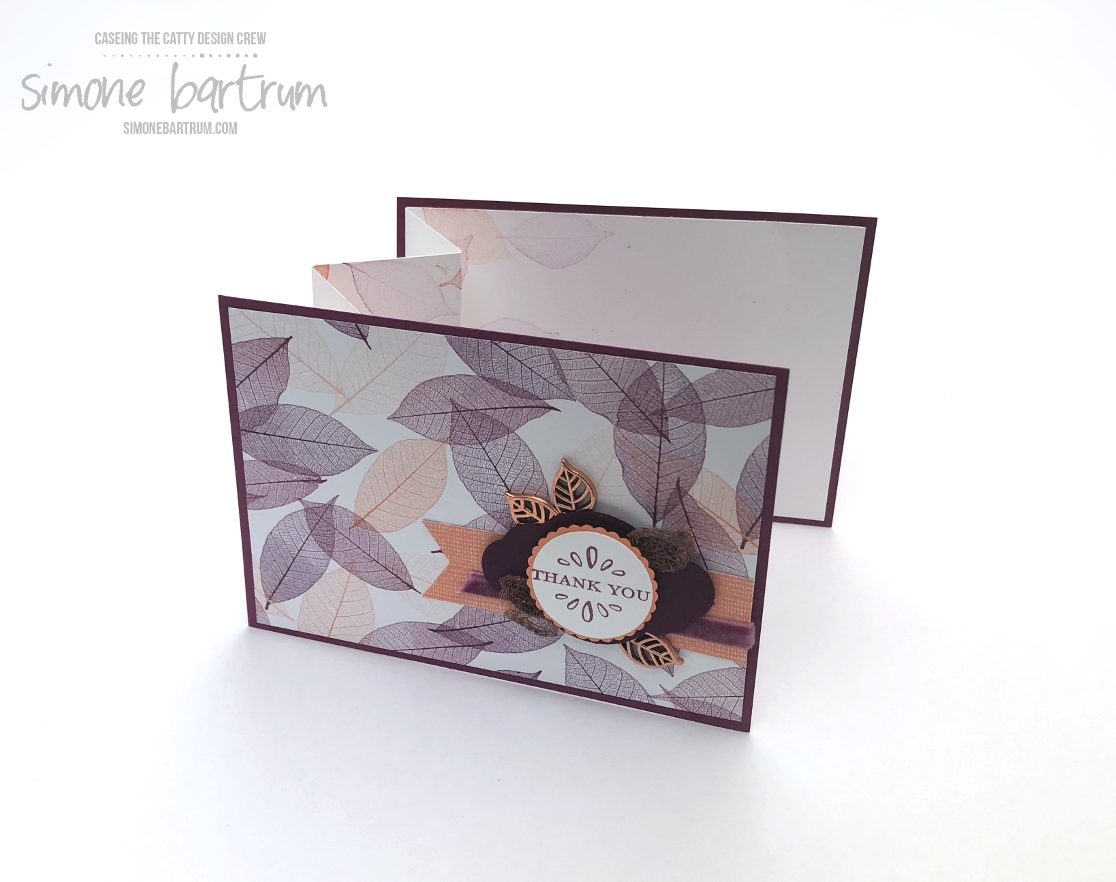 ctc 191 nature s poem fancy fold accordion fold insert simone