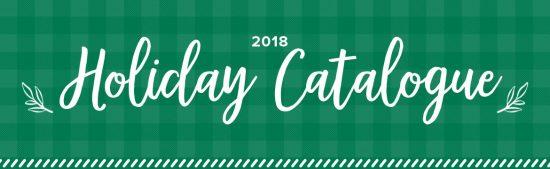 The 2018 Stampin' Up! Holiday Catalogue