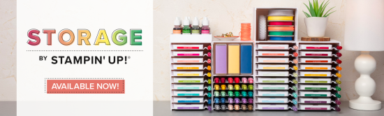 Storage by Stampin' Up! - Available in Australia now