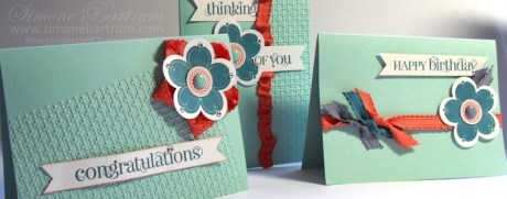 Colour Combo Cards: Island Indigo, Pool Party, Calypso Coral