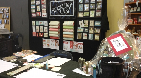 Stampin' Up! at the Bendigo Picture to Page show