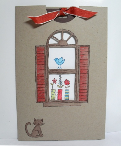 Window Dressing Slider Card