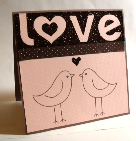 Stampin' Up! Valentines Card