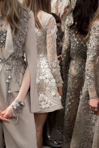 Elie Saab FW16 Haute Couture Backstage
