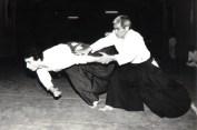 1985 - Dojo Centrale Roma - with Hideki Hosokawa