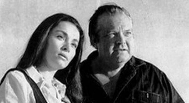 Oja Kodar e Orson Welles