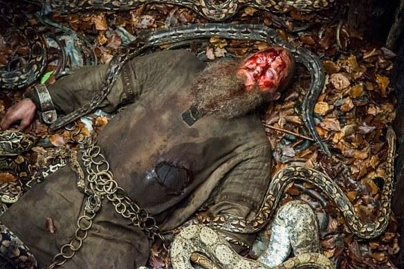 Ragnar dead body