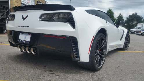 Corvette Side Rear