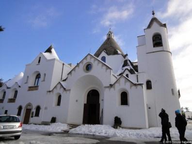 Alberobello, chiesa a trullo