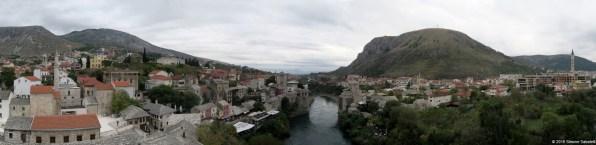 Stari Most visto dal minareto