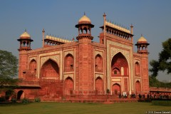 Taj Mahal, ingresso